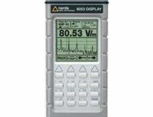 medidor de campos electromagnéticos PMM 8053