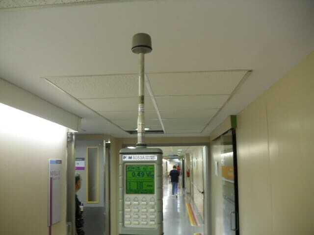 Control Radioeléctrico en centro sanitario