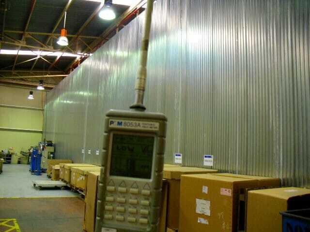 Control radioeléctrico en industria