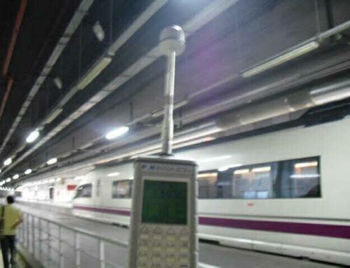 Emisión radioeléctrica en líneas de ferrocarril
